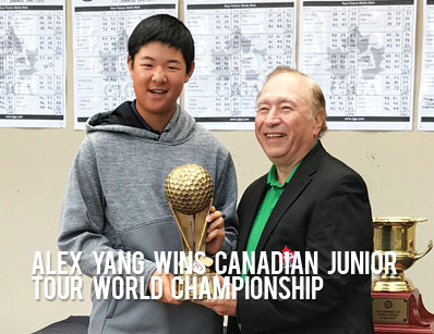 Alex Yang wins Canadian Junior Tour World Championship at Innisbrook