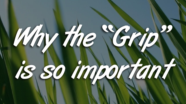 Why the Grip is so important
