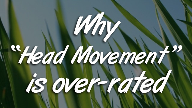 Why Head Movement is Over-Rated
