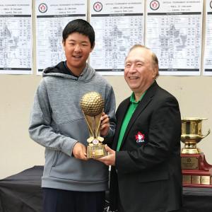 Alex Yang wins Canadian Junior Tour World Championship at Innisbrook